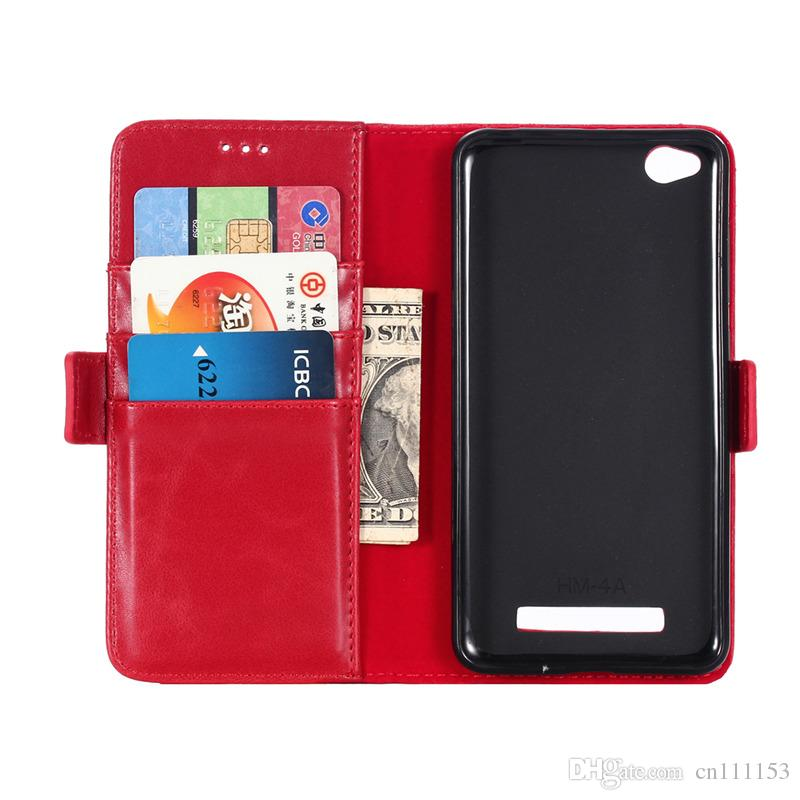 Luxury Genuine Leather Case For Xiaomi Redmi 4A 4X Note 4X NOTE3 NOTE 3PRO NOTE 2 Phone Cover With Card Slot Flip Holster
