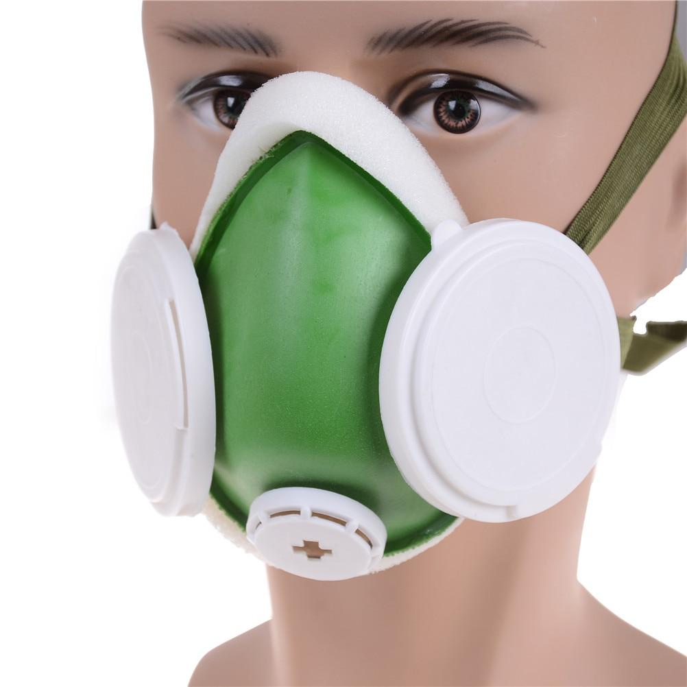 1PCS Industry Anti-Dust Respirator For Welder Welding Paint Spraying Cartridge Respirator Cycling Face Gas Mask
