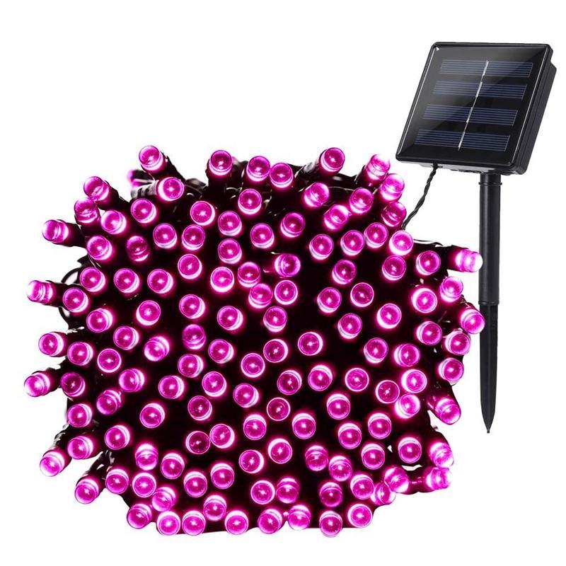 200 LED Solar Fairy String Lights (45)
