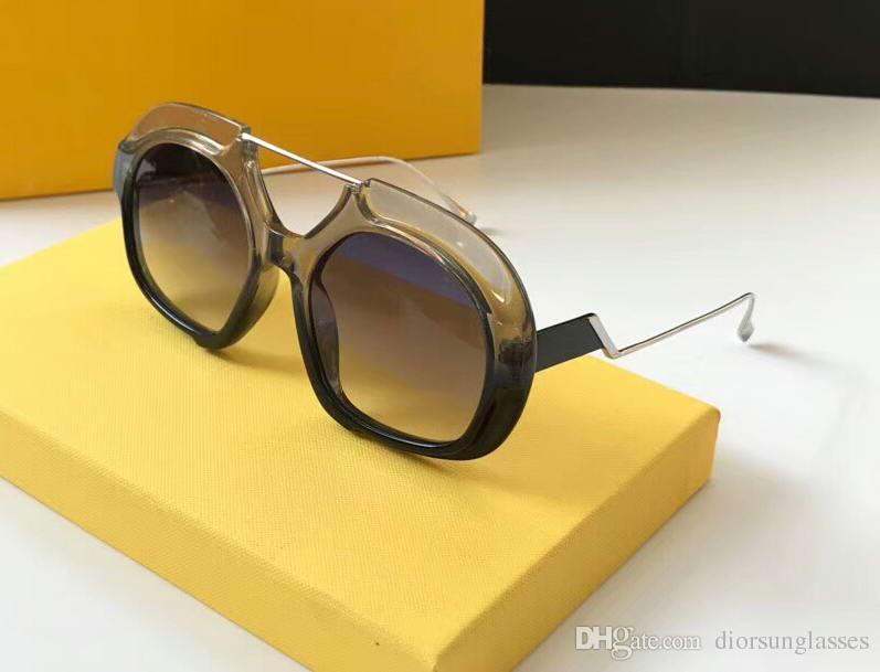 65bf49dc0 Compre Mulheres Homens Polly / S Rose Gold Olho De Gato Óculos De Sol Da  Marca De Grife De Moda Óculos De Sol Eyewear Novo Com O Caso Num2018ff5 De  ...