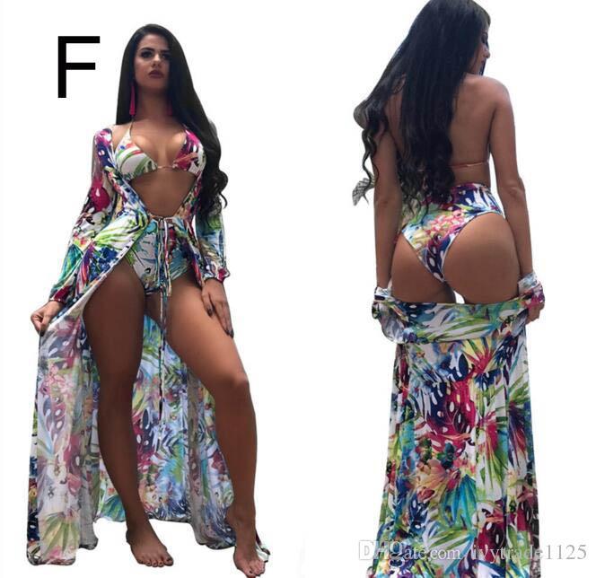 Женщины 3 шт. Набор бикини летний пляж купальники женщины бикини леди высокое качество горячая тонкий Нижний танкини купальники 4 цвета