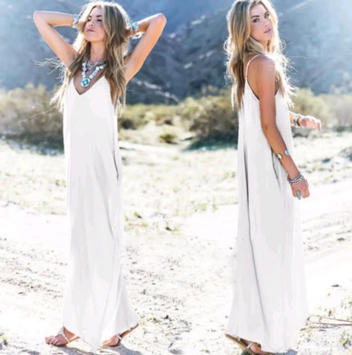 여성 의류. 드레스. 여름. 섹시한 해변 쉬폰 드레스. 얇은. 시폰 원단. 캐주얼 드레스. 샹 브레. Longuette. 스트라이프. 검은. 화이트.