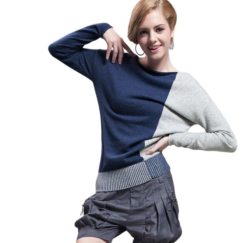 6dbc872804f Women Sweater 2018 Autumn Loose Knit Sweater Fashion Pullover Elegant Ladies  Cashmere Batwing Sleeve Women Tops Sweater Online with  38.4 Piece on  Bibei09 s ...
