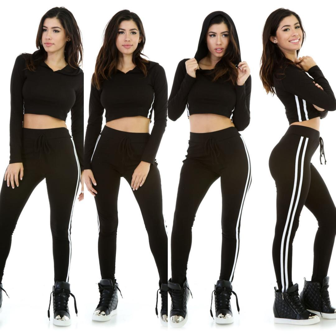 5bdb7473e403ac 2019 OLOEY 2018 New Style Laser Leggings Women Waist Fitness Leggings  Stretch Sets Trousers Women Summer Workout Clothing From Ahaheng, $40.64 |  DHgate.Com