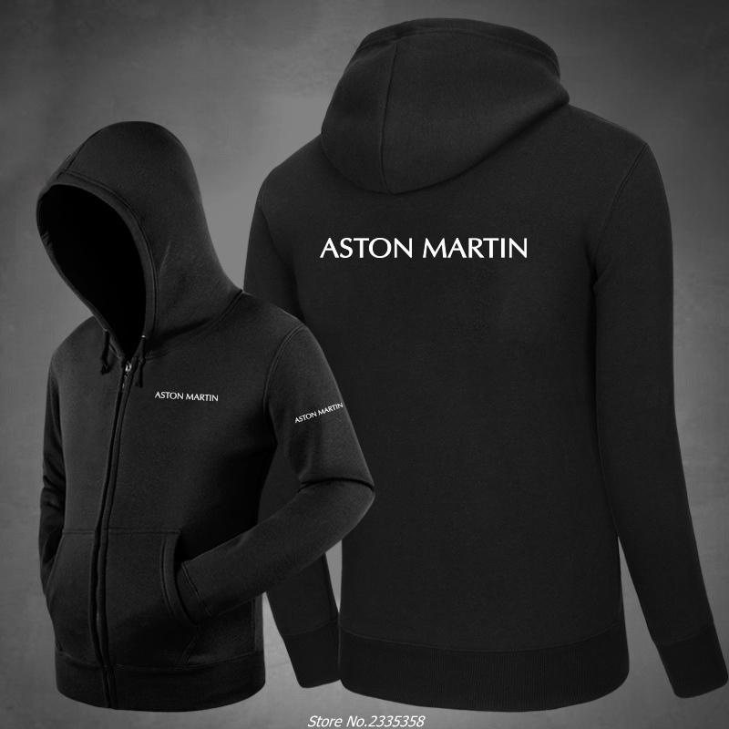 Winter Men Solid Colour Aston Marting Sweatshirt Winter Hoodies Coats Hoodied Casual Pullover Jacket Clothes Men Tops Hoodies & Sweatshirts