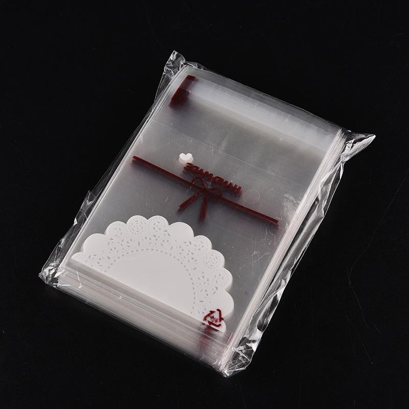 Großhandel 100 Stück Selbstklebende Plastiktüten Weihnachten Cookie ...