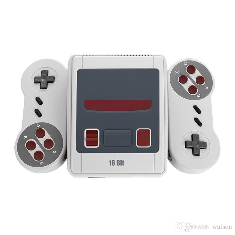 Hot Selling16 Bit Retro Super MINI MD Video Game Console For Sega AV Out Game Player with retail box