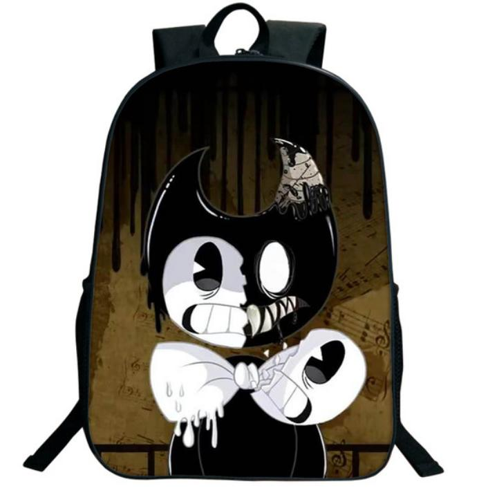 Hot Cartoon Bendy And The Ink Machine Backpack For Students Bendy And Boris  Kids Backpacks Teens Boys Girls Children School Bags 33 Back Pack Cute  Backpacks ... 6f272f4db0