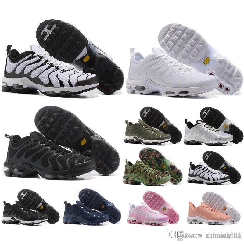 buy popular 69001 abb4a Compre 2018 New Men TN Shoes Sell Like Hot Cakes Moda Mayor Ventilación  Ventilación Casual Zapatos Olive Cargo GS Zapatillas Zapatillas Envío  Gratis Nike ...