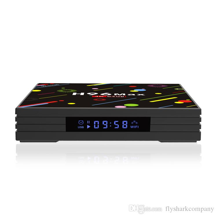 H96 MAX H2 4GB 64GB RK3328 Android 7.1 TV Box Bluetooth 4k 5G Dual wifi Streaming Media Player T95Z PLUS S8pro
