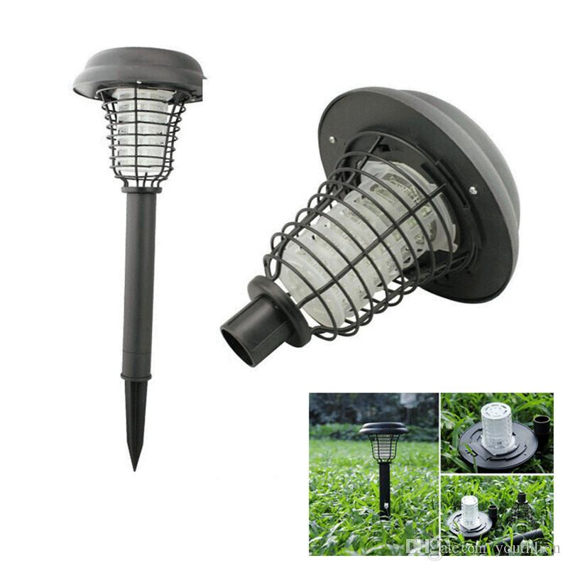 Solar Powered Outdoor Insect Killer Vendita calda Bug Zapper Zanzara LED Garden Prato Lampada solare Pest Control forniture