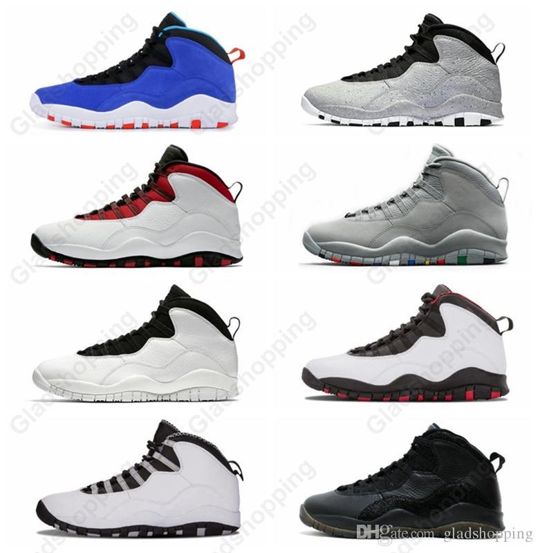 super popular 52744 f94ce ... Im Back Cool Grey Hombre Mujer Zapatillas De Baloncesto Zapatillas 10s  X Zapatos De Diseñador Deportivo Con Caja A  91.74 Del Gladshopping    DHgate.Com