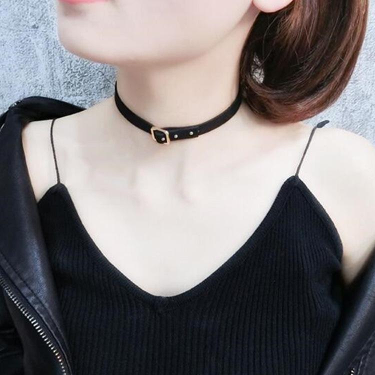 56c6b84e2888 Estilo Sencillo Carta Forma Collar Vintage Compre Gargantilla TJ1clFK