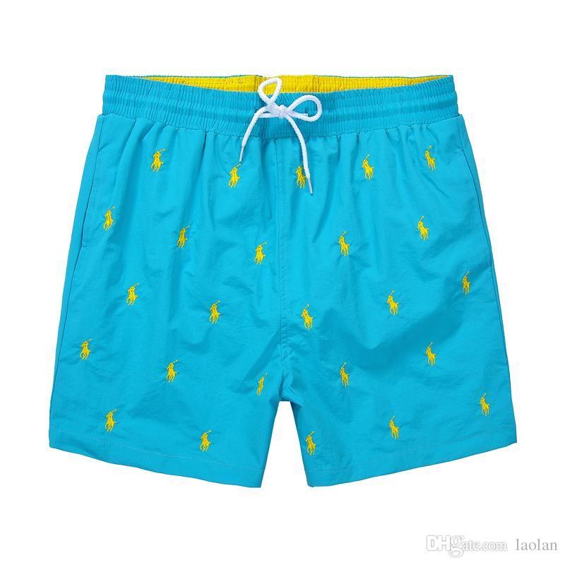 df3390fdbc P OLO Wholesale New Board Shorts Mens Summer Beach Shorts Pants  High-quality Swimwear Bermuda Male Letter Surf Life Men Swim Mens Summer  Beach Shorts Men's ...