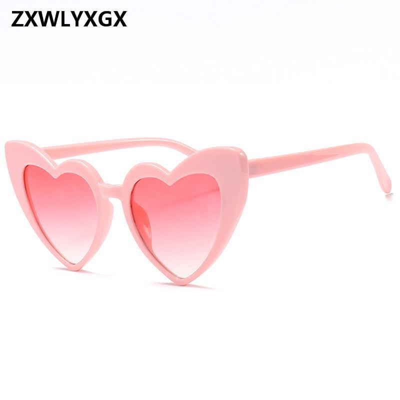 d21fcfa5f3 ZXWLYXGX 2018 Love Heart Sunglasses Women Cat Eye Vintage Sun Glasses  Christmas Heart Shape Party Glasses Women Driving Baby Sunglasses Designer  Eyeglasses ...