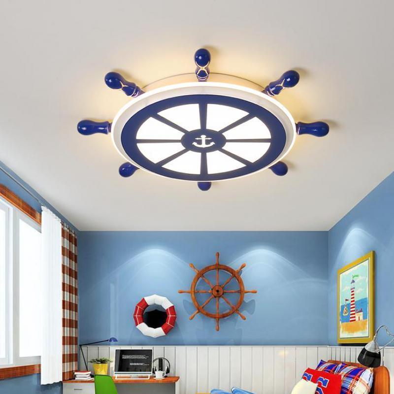 Grosshandel Kinder Blau Segel Lampe Beleuchtung Kinderzimmer Led