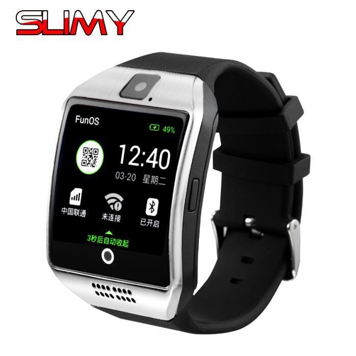 Умные Браслеты Slimy Дешевые Bluetooth Wifi 3g Smart Watch Поддержка  Android 4.4 Os Gps Камера Smartwatch Video Play Pk X01s X02s Kw88 Наручные  Часы Умные ... 894313eab2a
