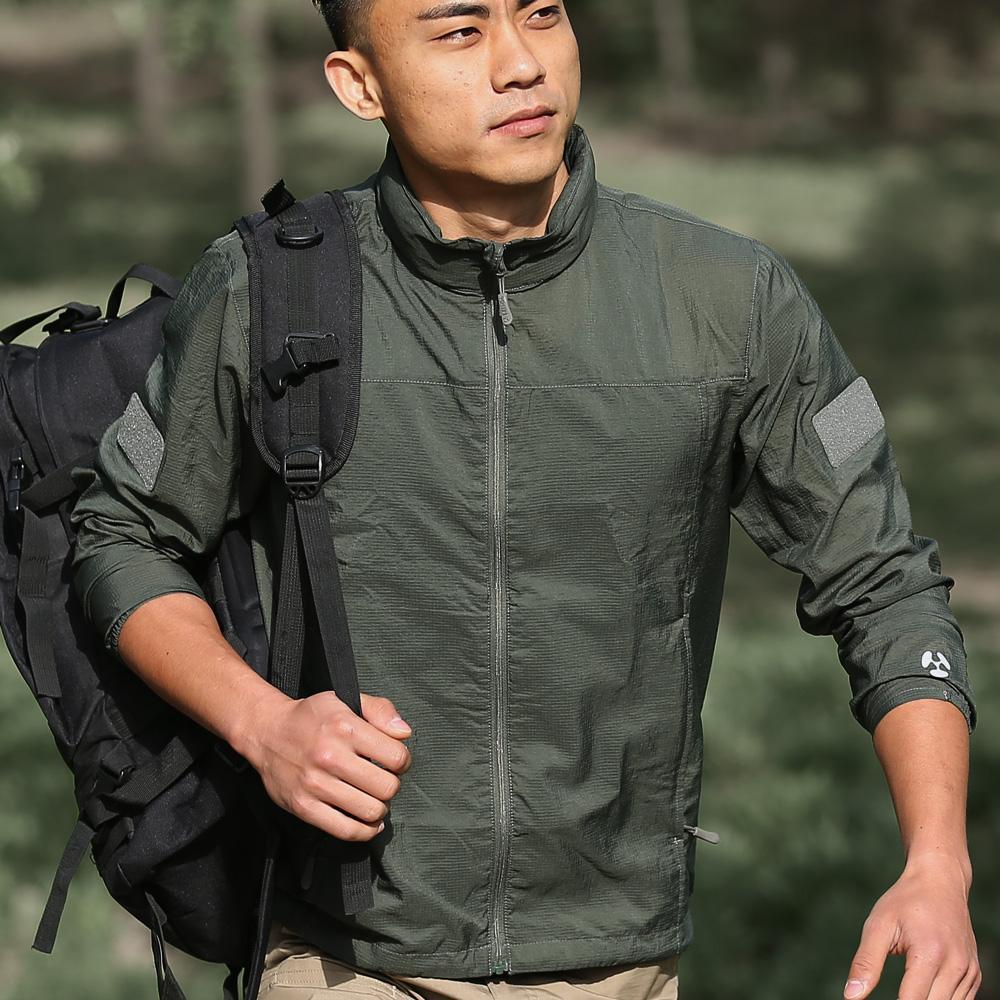 качество Lurker военная тактическая куртка водонепроницаемый ветрозащитный куртка дышащий ультра-тонкий быстросохнущие кожи пальто