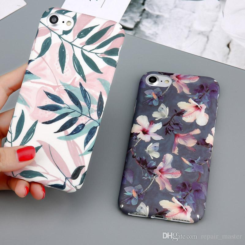 da4c03bba5f682 Case For IPhone 7 6 X XR XS Max Flower Cherry Tree Hard PC Phone Cases  Candy Colors Leaves Cover For IPhone 6 6s 7 8 Plus Cell Phone Cover Cell  Phone ...