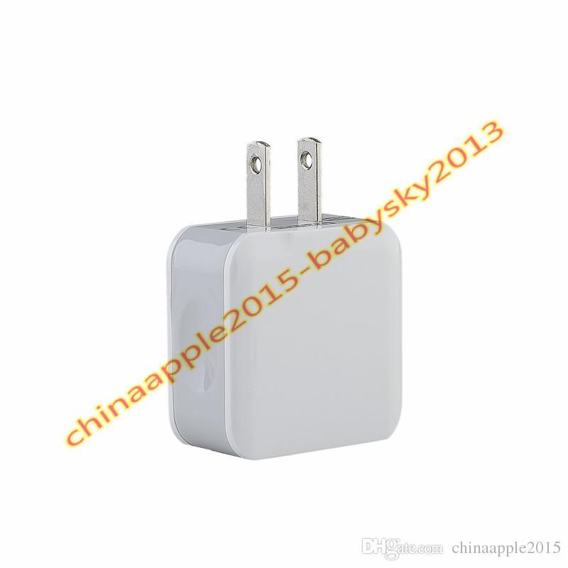 Smart Fast Charge США ЕС Двойное зарядное устройство USB 5В 2.5A Smart Auto адаптер питания для iphone 7 8 X Samsung s7 s8 android телефон планшетный ПК