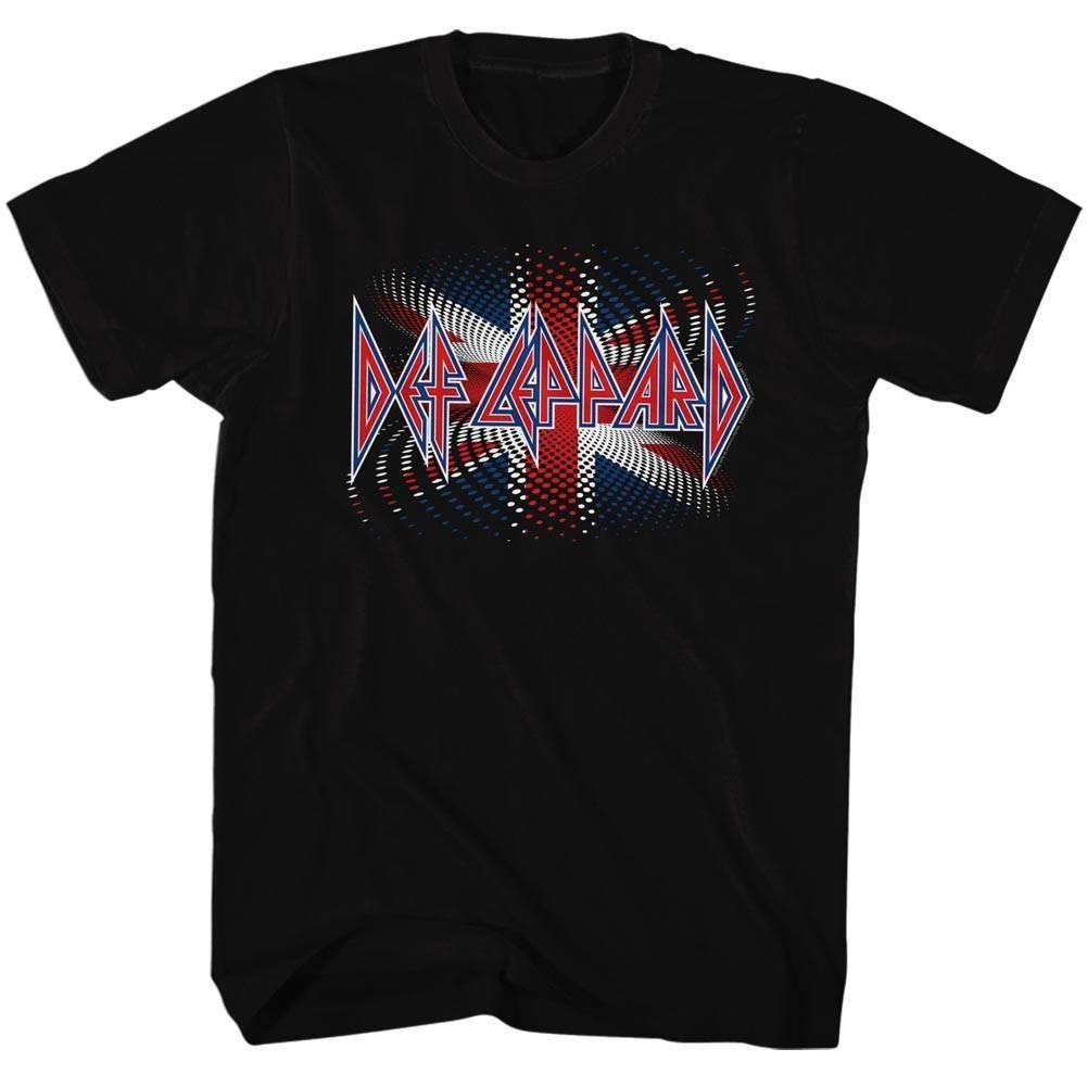 6e525735f16 Def Leppard Men S Short Sleeve T Shirt Black Brit Ish Humor T Shirts Funky T  Shirt From Chylytshirts37