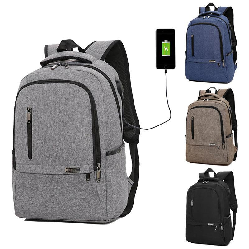 15.6 Inch Laptop Backpack USB Charging Bagpack For Women Men Teenagers Back  Pack Travel Backpack School Bag Computer Daypack Backpacks For Girls  Waterproof ... c638eca4efb5d