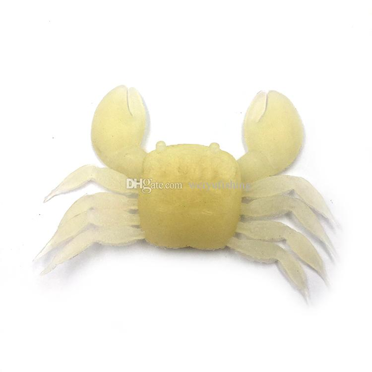 Crab Shape Soft Fishing Lure Artificial Bait FishingTackle for Bass Trout Salmon Snakehead Freshwater Saltwater Fishing