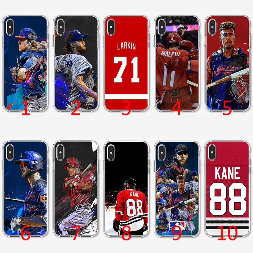 size 40 5f9ef 158dc Ice Hockey baseball Soft Silicone TPU Case for iPhone X XS Max XR 8 7 Plus  6 6s Plus 5 5s SE Cover