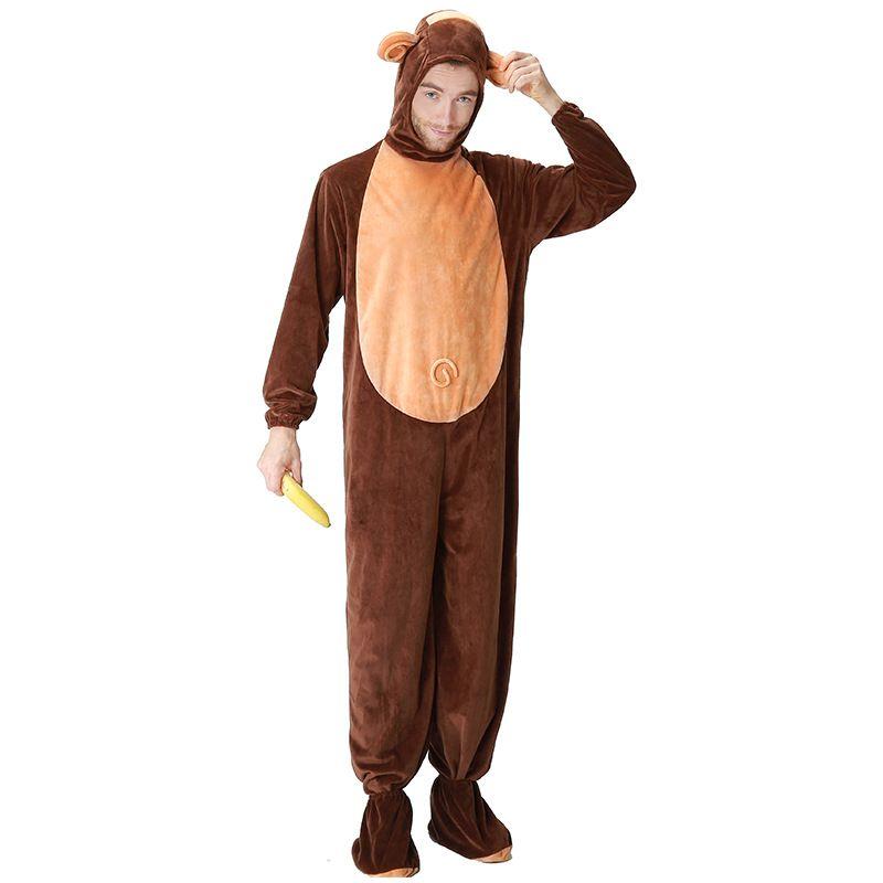 Halloween Costumes Animal Costumes Zodiac Children Adult Monkey Costume Show Cosplay Animal Jumpsuit Funny Group Halloween Costumes Girls Groups Of 3 ...  sc 1 st  DHgate.com & Halloween Costumes Animal Costumes Zodiac Children Adult Monkey ...