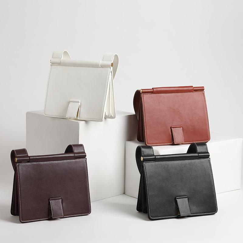 cbb7e307d0ee Luxury Handbag for Woman,Retro handbags New wide shoulder strap organ purse  tote Slim diagonal lock bag