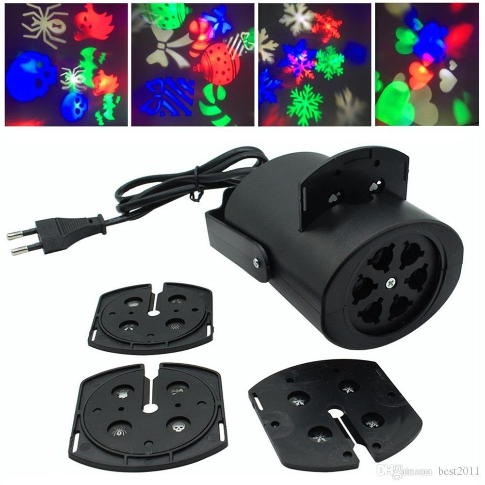 Großhandel 2018 Moving Weihnachten Laser Lichter Schnee Projektor ...