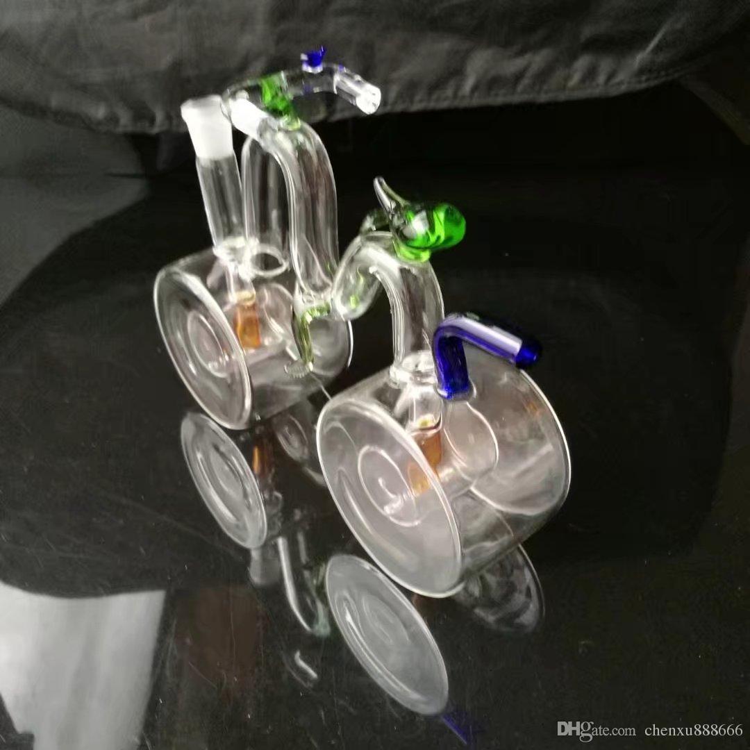 Высокое качество велосипедов кальян ,Оптовая бонги масляная горелка трубы водопровод стеклянные трубы нефтяные вышки курение Бесплатная доставка