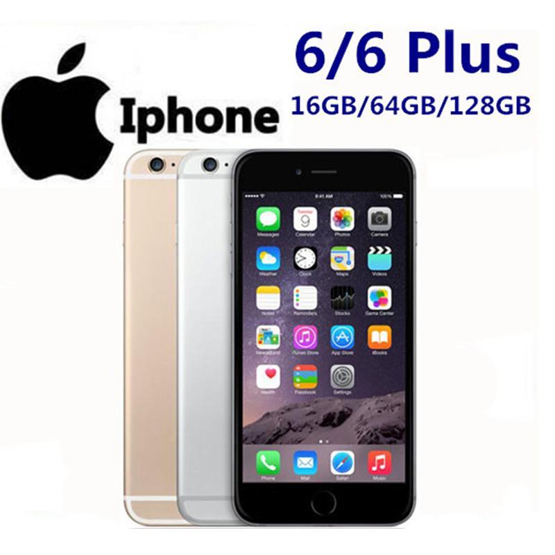 Original Refurbished iphone6 4.7Inch 5.5inch Apple iPhone 6 6s 6plus 16/64GB i6 i6plus Dual-core iOS With Fingerprint WCDMA LTE Mobilephone