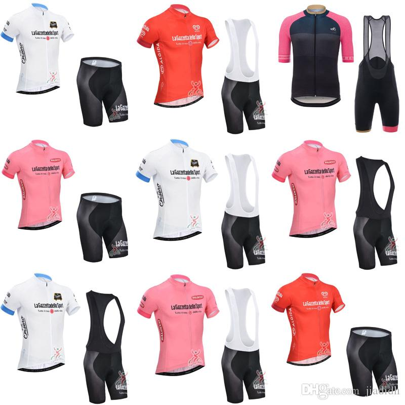 TOUR DE ITALY Team Cycling Short Sleeves Jersey Bib Shorts Sets Hot Sale  Bikes Clothes Ropa Ciclismo 9 Styles To Choose From C3013 Mountain Bike  Jerseys ... 33f655ca4