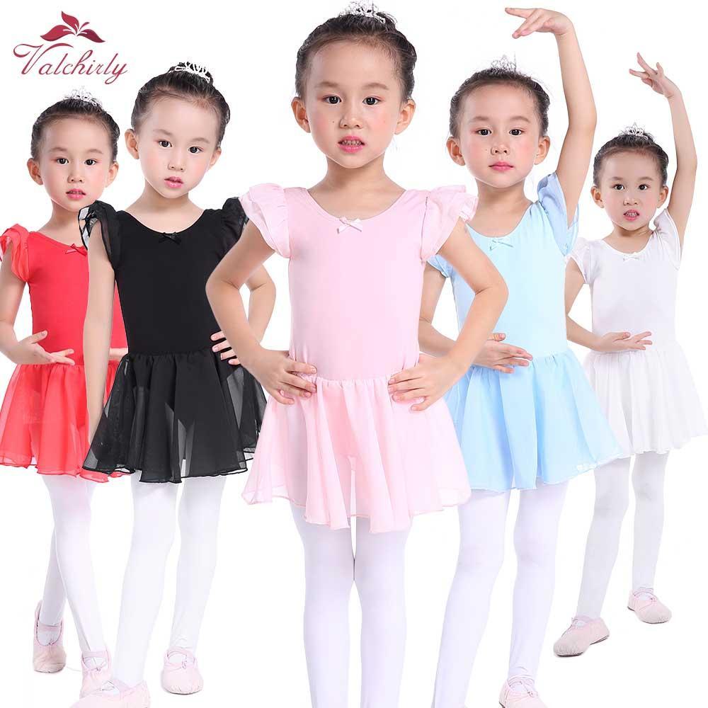 a4bfd11be5 Compre Rosa Ballet Dress Crianças Collant Tutu Trajes De Desgaste De Dança  Ballet Leotards Para A Menina Bailarina De Eggplant18