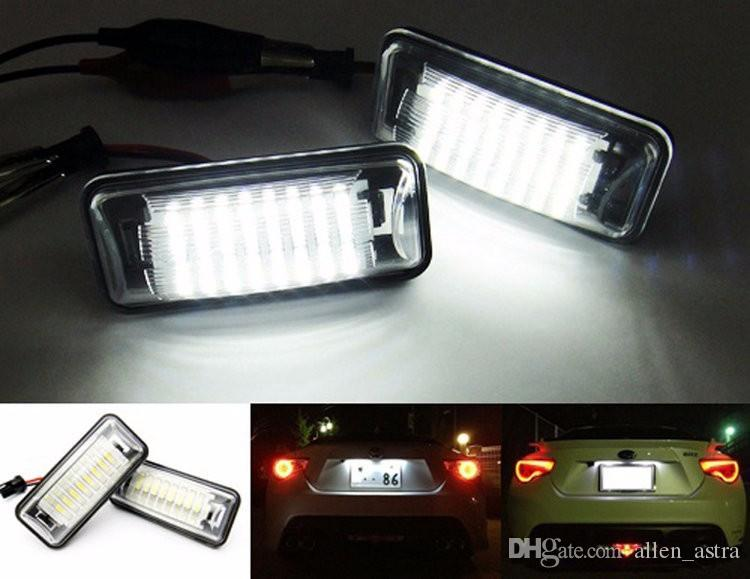 Auto Led Lampen : Großhandel auto led kennzeichenbeleuchtung v weiß smd led lampe
