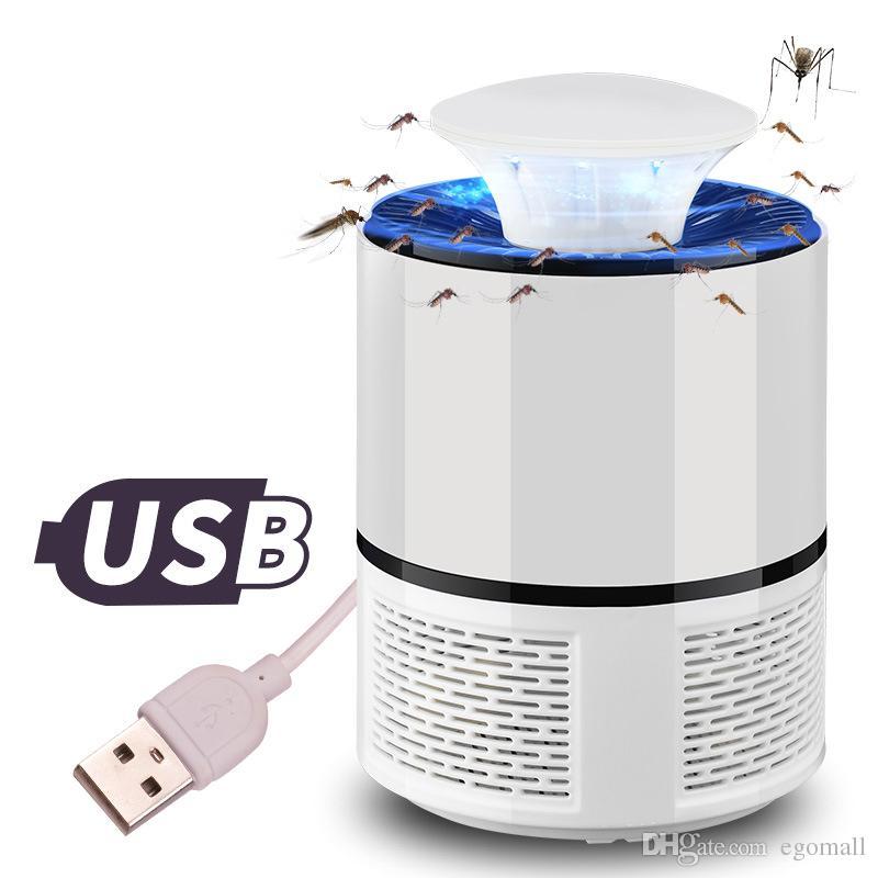 USB-устройство фотокаталитический убийца москита лампа Комаров ошибка насекомых ловушка света ультрафиолетовый свет убивает ловушка светильник Fly отпугиватель