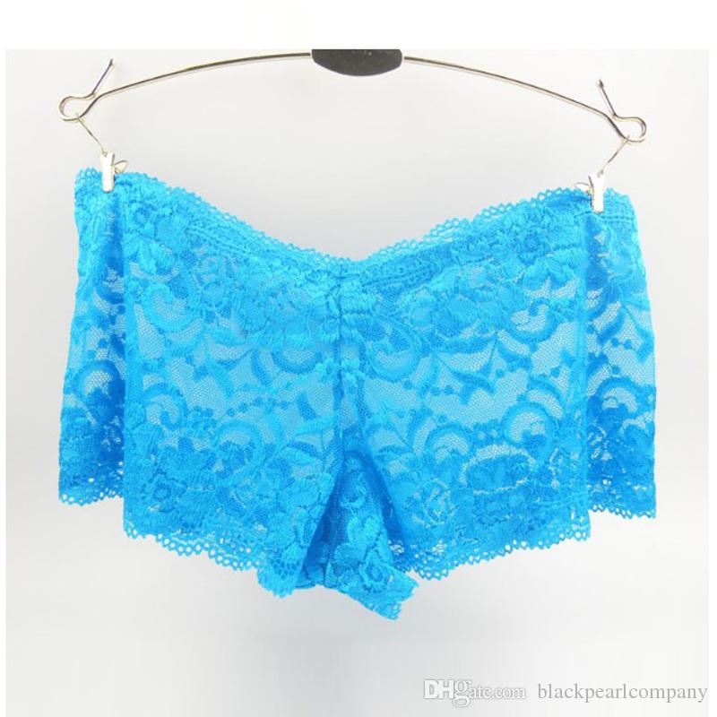 Multi Colors Italy Lace Panties Boyshorts Booty Shorts Sexy Underwear Women's Panties Briefs Intimates Plus Size Panties S-XXXXL