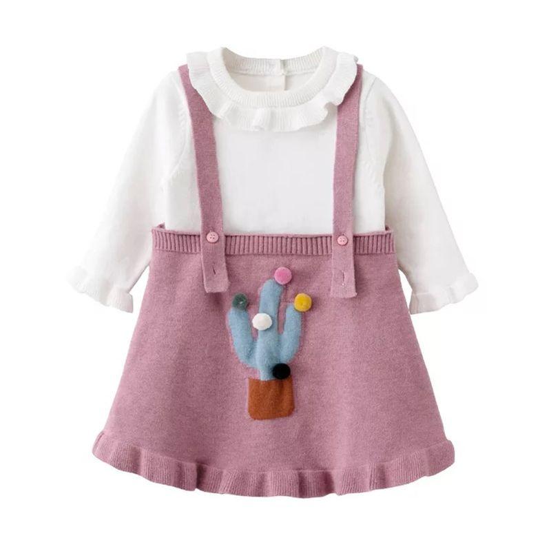 abc271013 2019 Autumn Winter Baby Girls Sweater+Dress Kids Cute Sweater ...