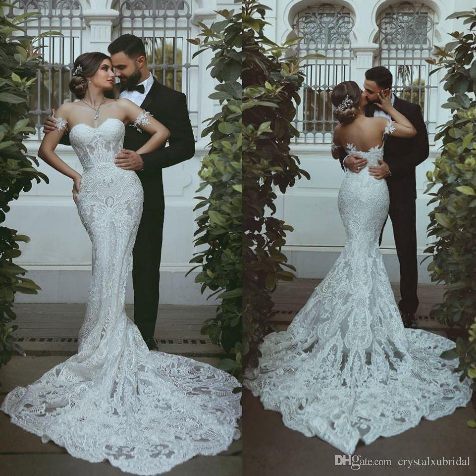 Vestidos de novia corte sirena nuevos