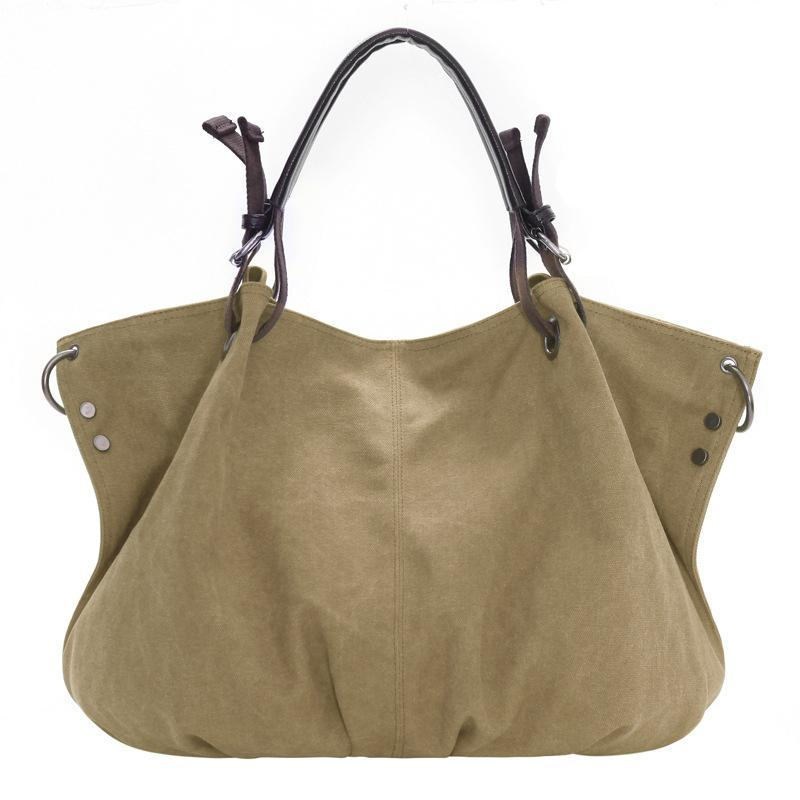 Fashion Bags Totes Women S Handbag Tote Purse Canvas Oversized Hobo Top  Handle Genuine Leather Tote Handbag Shoulder Bag For Women Bags For Women  Weekend ... c6ab4d35e4c09