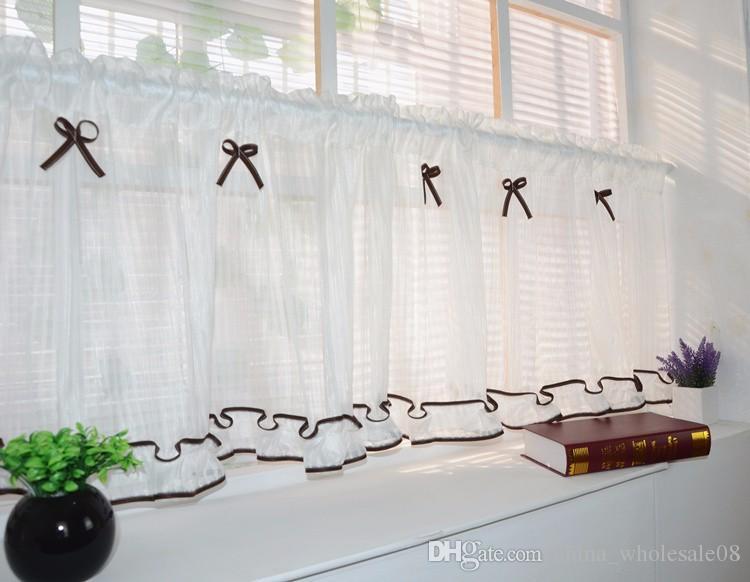 Großhandel Schöne Küche Vorhänge Kaffee Fenster Vorhang Raffrolloszi