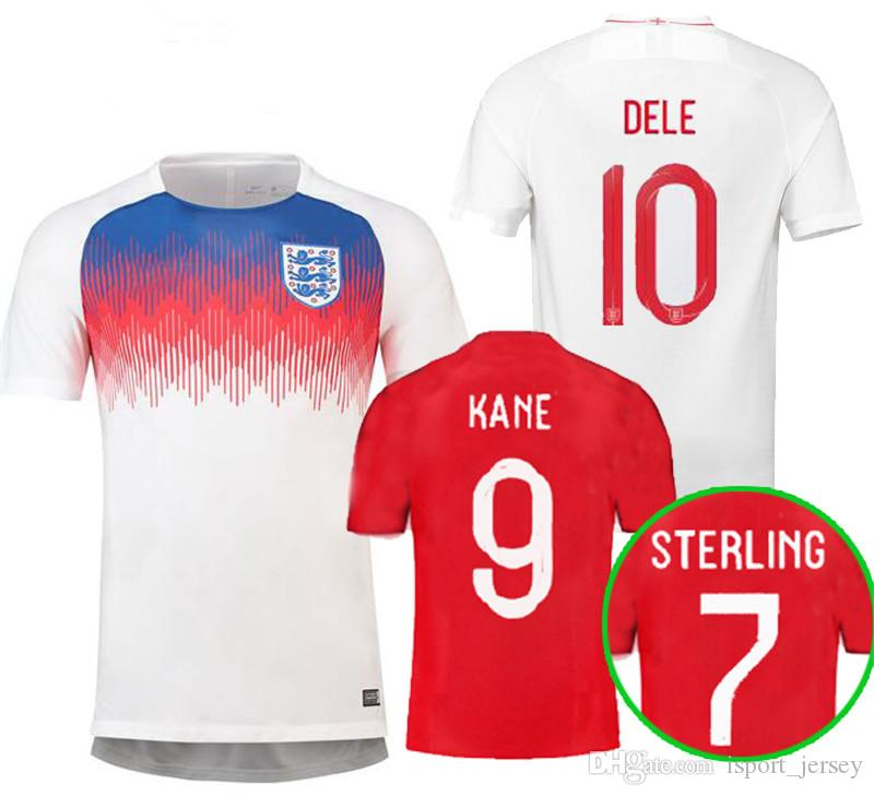 ee2680213 2019 2018 World Cup Soccer Jerseys 2018 KANE RASHFORD VARDY DELE ALLI Jersey  LINGARD STERLING STURRIDGE Football Kits Shirt Camiseta De Futbol From ...