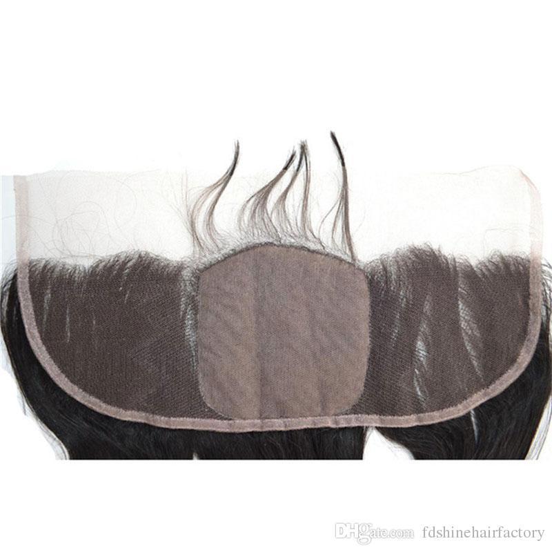 Peruvian Loose Wave Hair Bundles for Human Hair Weaves Loose Wave Silk Base Frontal Closure FDSHINE