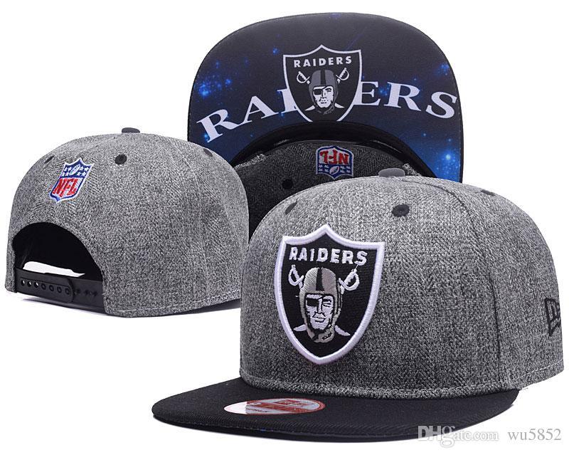 ecb1e0f56d7 Hot Selling Black Adjustable Embroidery Oakland Raider Snapback Hats ...