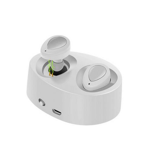 K2 TWS mini auricular bluetooth para auriculares Auriculares gemelos 1 pieza / muestra auriculares inalámbricos Estéreo en el oído Con conector de carga libre de DHL