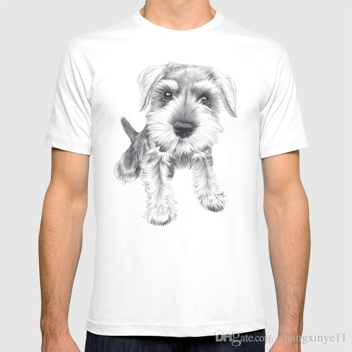 41f8fe13 2018 New T Shirt Schnozz The Schnauzer Shirt Funny Tee T Shirt Buy From  Zhangxinye11, $14.21  DHgate.Com