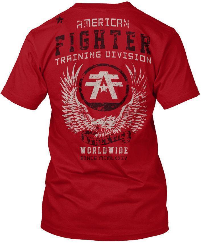bceda545a American Fighter Mens Popular Tagless Tee T Shirt T Shirt Printing Shirts  From Linnan007, $14.67  DHgate.Com