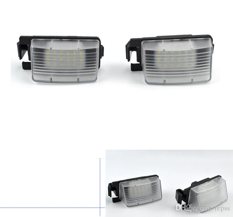 Nissan ile uyumludur, Infiniti plaka ışıkları LED plaka lambası Plaka