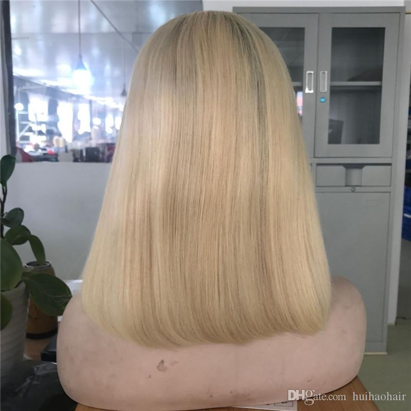 Cheap Ombre Wigs 4 613# Short Bob Lace Front Wigs Full Lace Wigs for Black Women